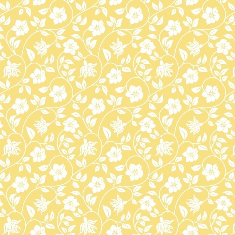 593f2506c Papel de parede arabesco amarelo claro fundo branco papel de parede floral  branco amarelo adesivo 3m 1239