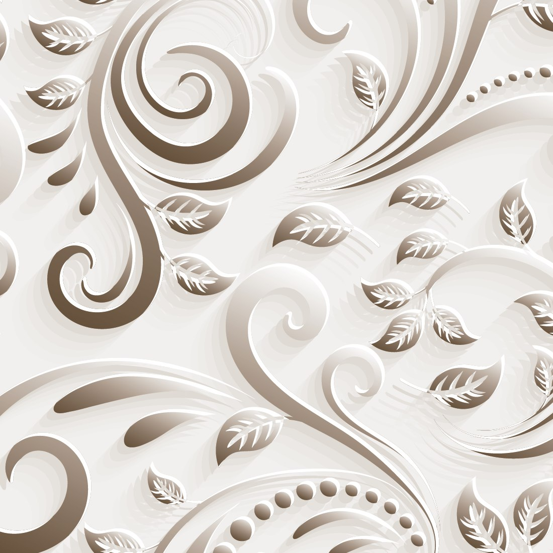 Papel de parede floral efeito 3d v rias cores auto adesivo - Paredes de papel ...
