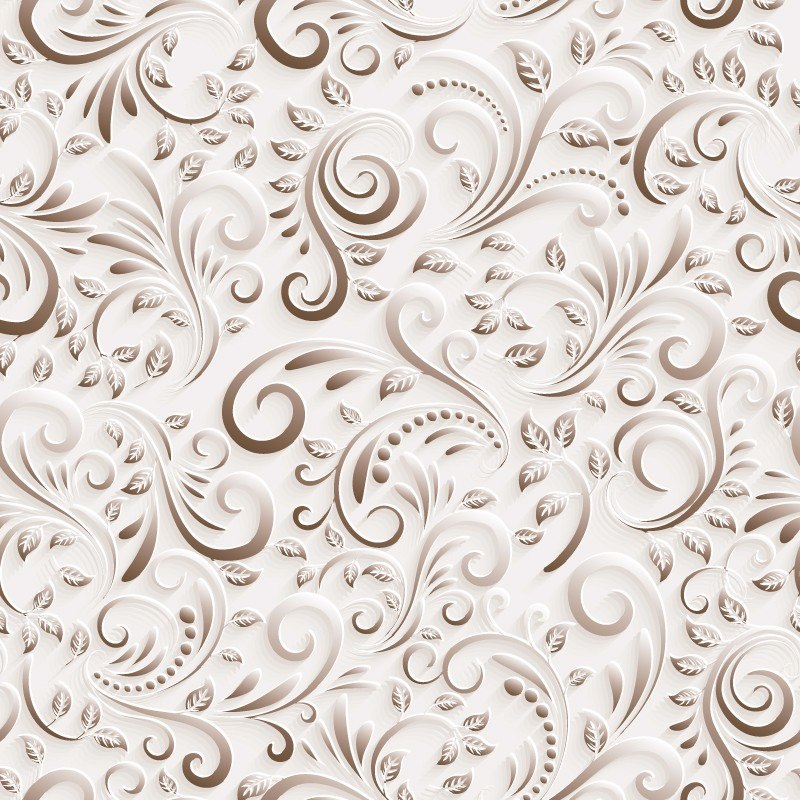Papel de parede floral efeito 3d v rias cores auto adesivo for Papel de pared plata