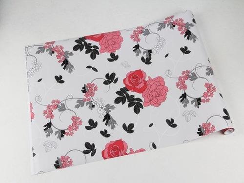 papel de parede fundo cinza claro, desenhos rosa, preto