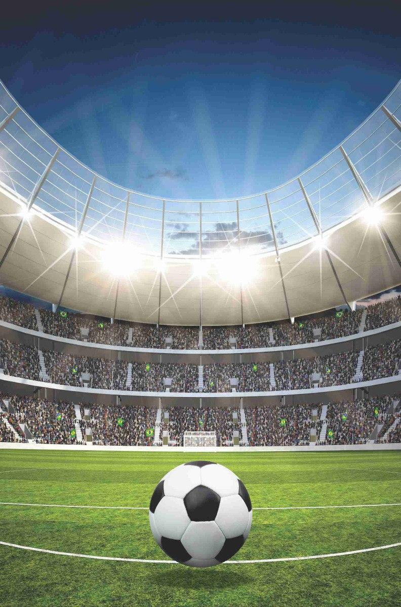 papel de parede futebol est dio bola 1 60x2 40m jogo gg133 r 215 00 em mercado livre. Black Bedroom Furniture Sets. Home Design Ideas