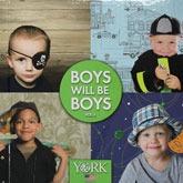 papel de parede importado boys will be boys - vinilico