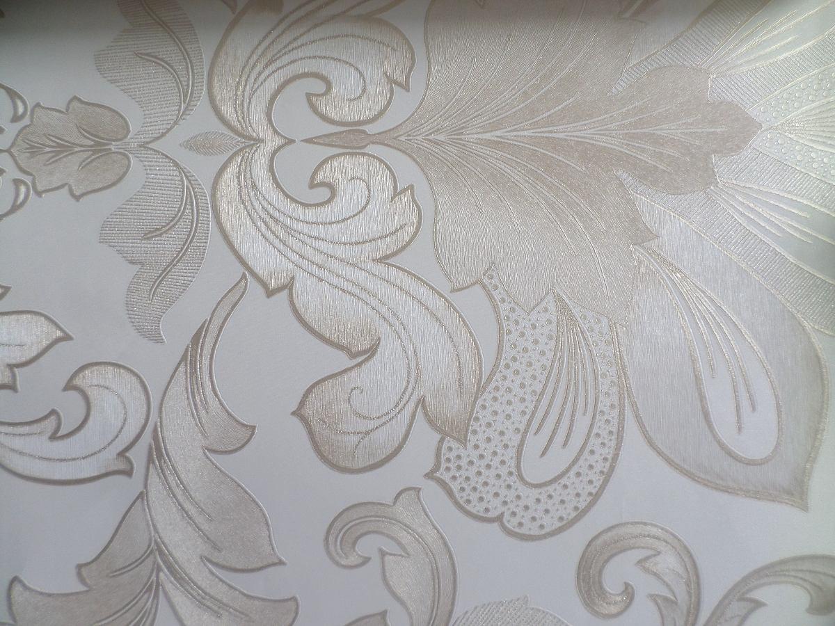 Papel de parede lavavel vinilico importado arabesco - Papel vinilico para paredes ...