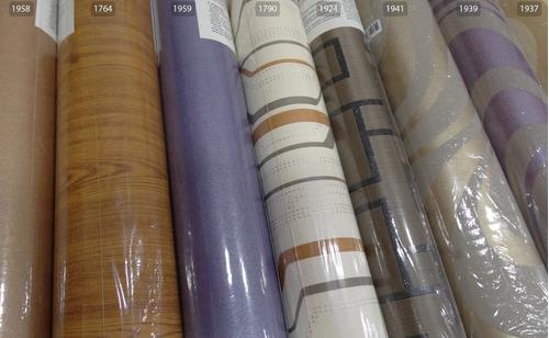 papel de parede lenharo 10m x 53cm lindíssimos modelos