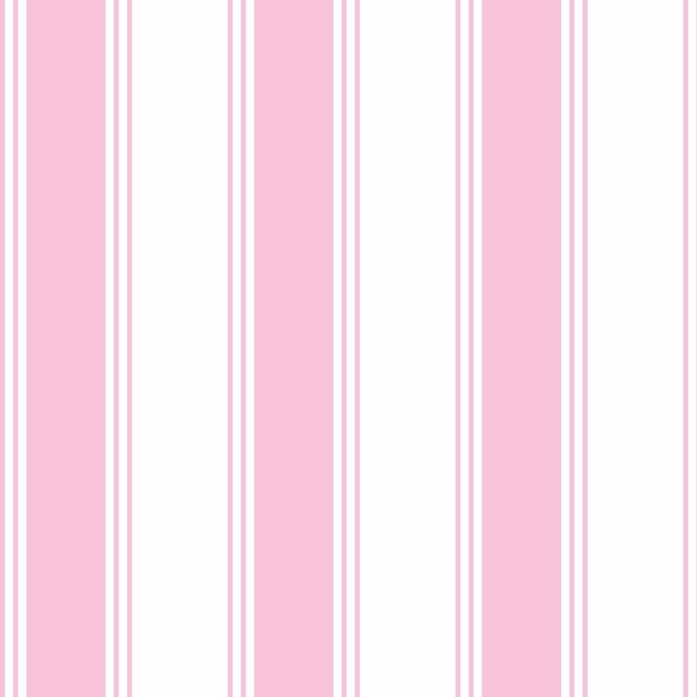 c23ccaddc Papel De Parede Listrado Rosa Branco Adesivo Kit 5 Rolo 2