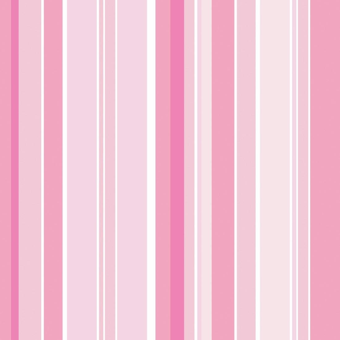Papel de parede listrado tons rosa r 47 00 em mercado livre - Papel de pared de rayas ...