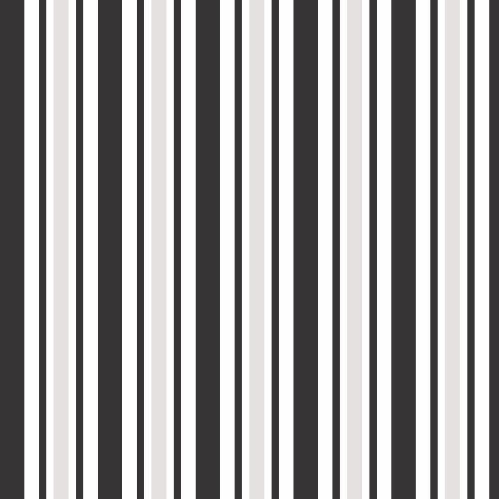 Papel De Parede Listras Coloridas Preto Adesivo Quarto 10mts R