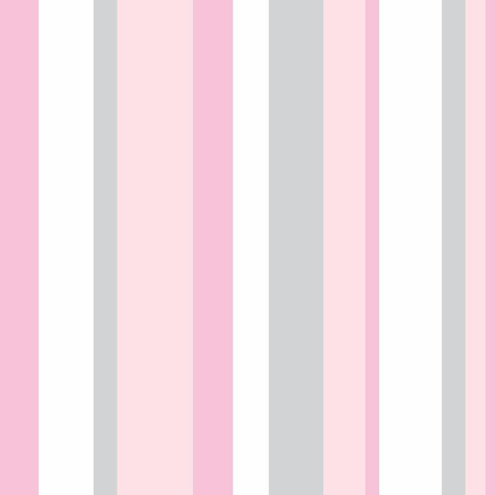 b9ab02826 papel de parede listras infantil rosa adesivo kit 5 rolos 3m. Carregando  zoom.