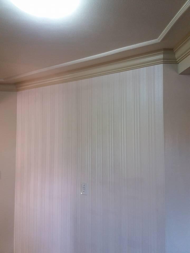 Papel de parede listras p rola rolo vin lico lav vel 10m r 119 90 em mercado livre - Papel vinilico para paredes ...