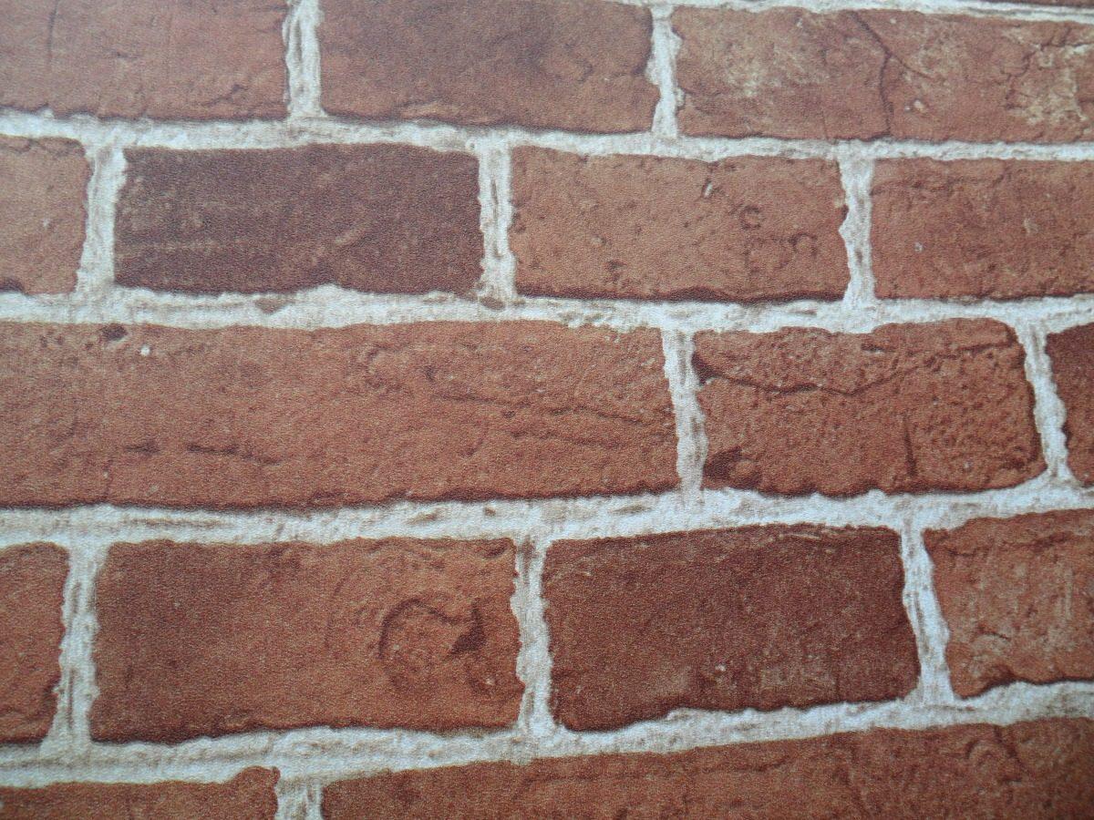 a608cb876 papel de parede muresco natural zen tijolo colonial laranja. Carregando zoom .
