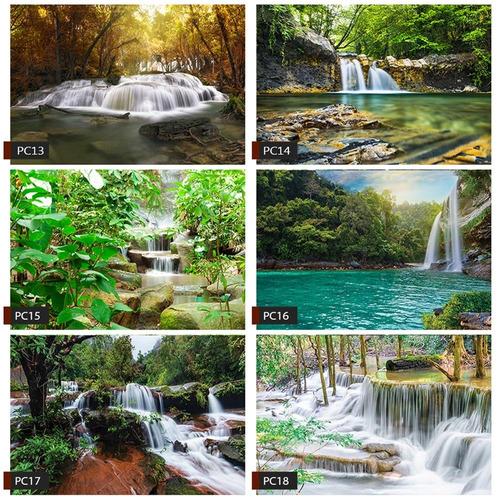papel de parede paisagem cachoeira natureza 11 metros