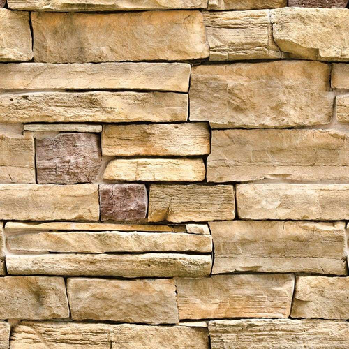 papel de parede pedra canjiquinha bruta lavável viníl 3,10m