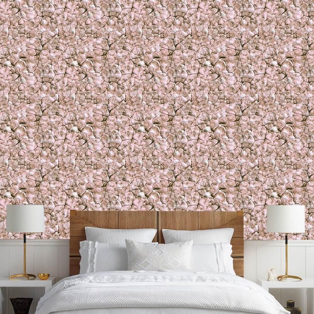 de9a3876e papel de parede pedra rústica textura efeito 3d bege 10m. Carregando zoom.