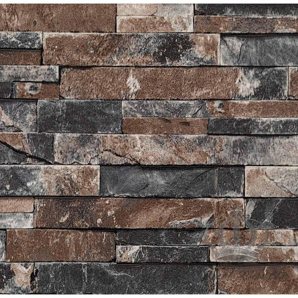 Papel de parede pedras 3d r 138 00 em mercado livre - Papel adhesivo para paredes ...