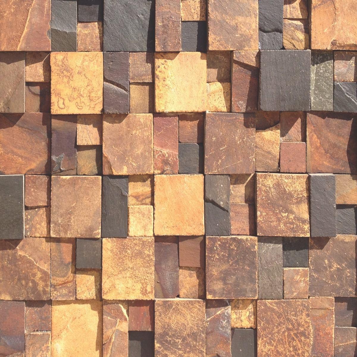 3b31a42e5 papel de parede pedras 3d rústica autoadesivo lavável 5m. Carregando zoom.