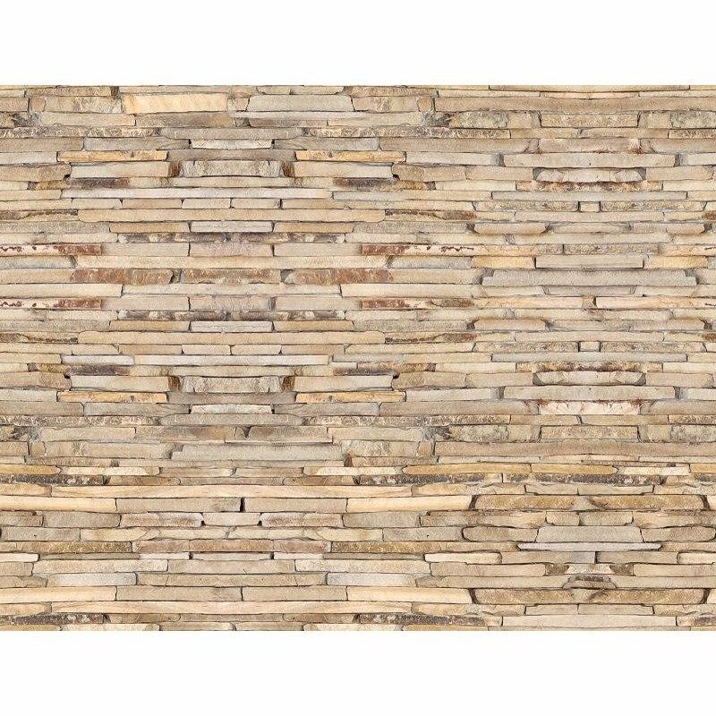 bf998e6d8 papel de parede pedras filetes bege decorativo 3d adesivo. Carregando zoom.
