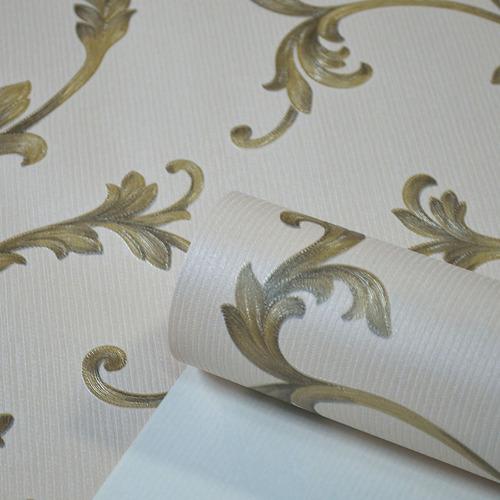 Papel De Parede Importado Textura Alto Luxo Vinílico