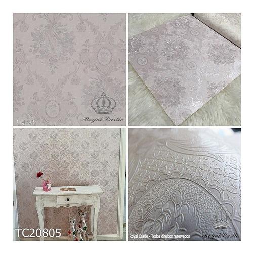 papel de parede  royal castle touch of class 53cmx10m