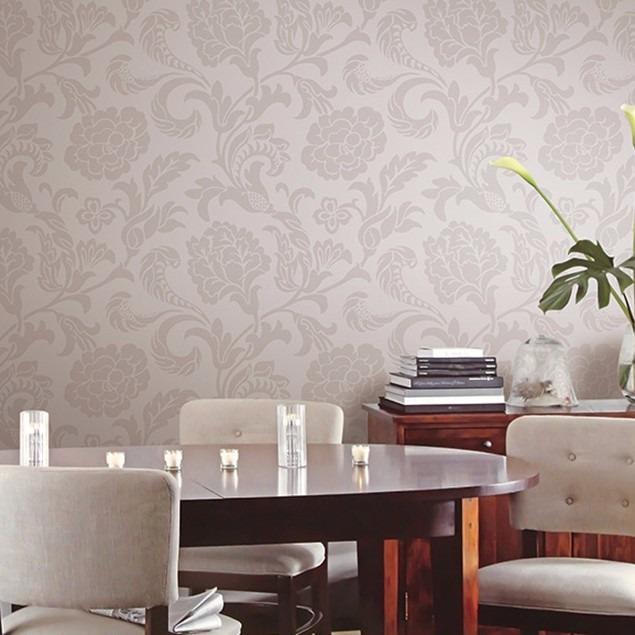 Papel de parede ruby importado vin lico texturizado r - Vinilico para paredes ...