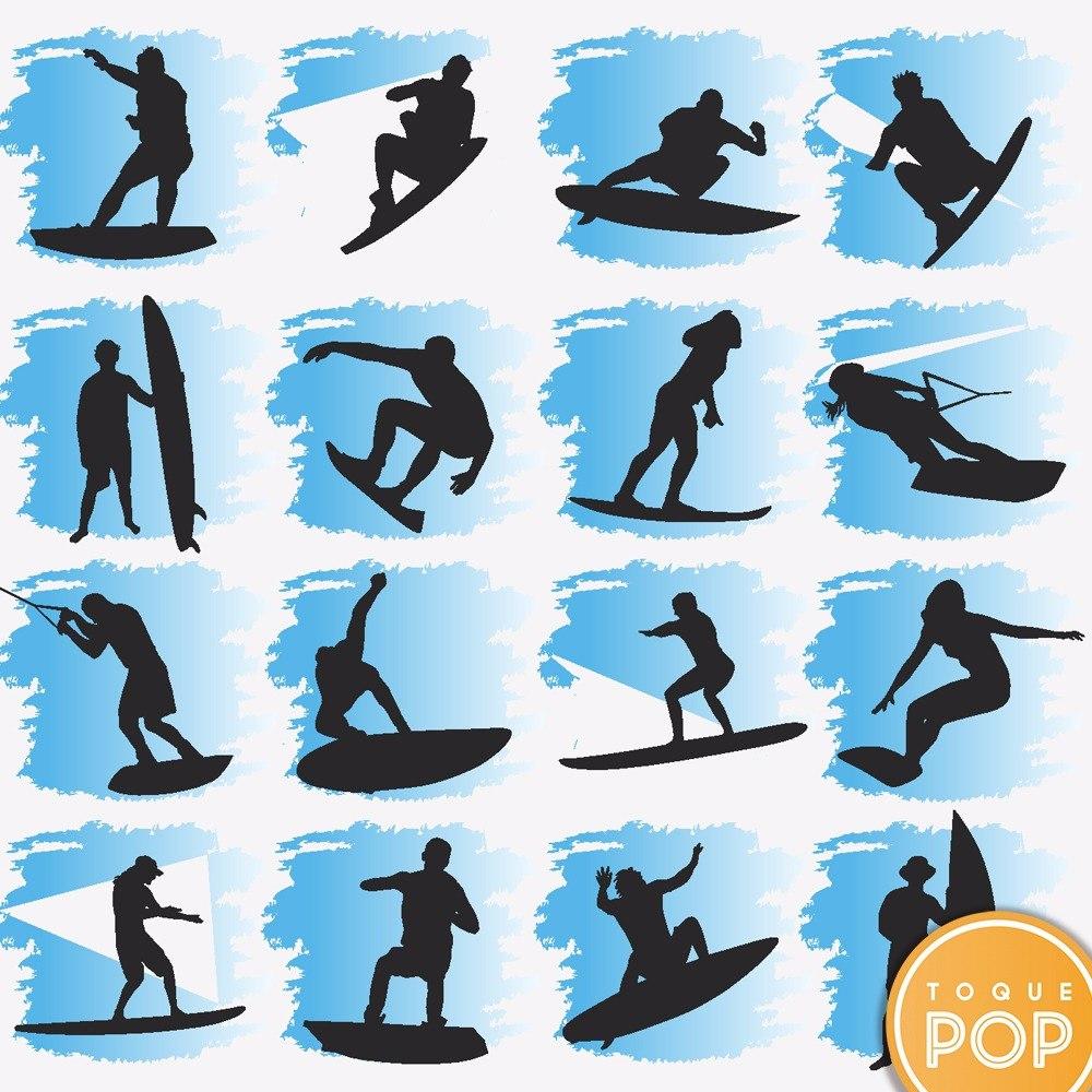 24c994105 papel de parede surf prancha azul preto adesivo contact 3m. Carregando zoom.