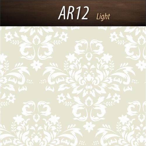 papel de parede texturizado arabescos - light - 1,04 x 6,...