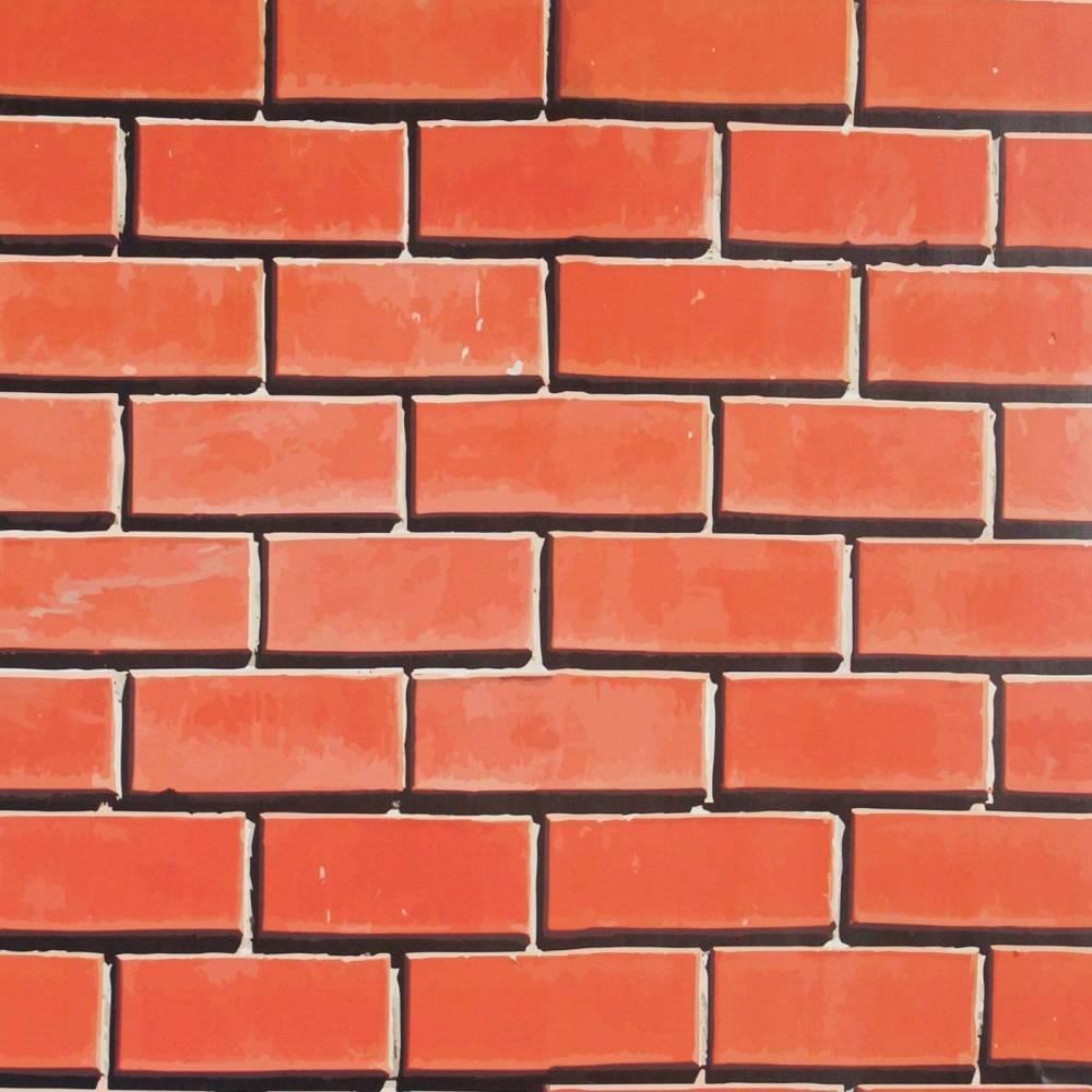 b9f4b5c62 papel de parede tijolo desenho laranja 011. Carregando zoom.