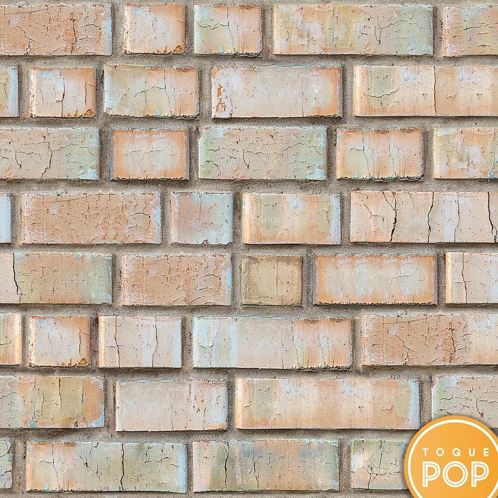 69643701a papel de parede tijolo refratário bege vintage por metro. Carregando zoom.