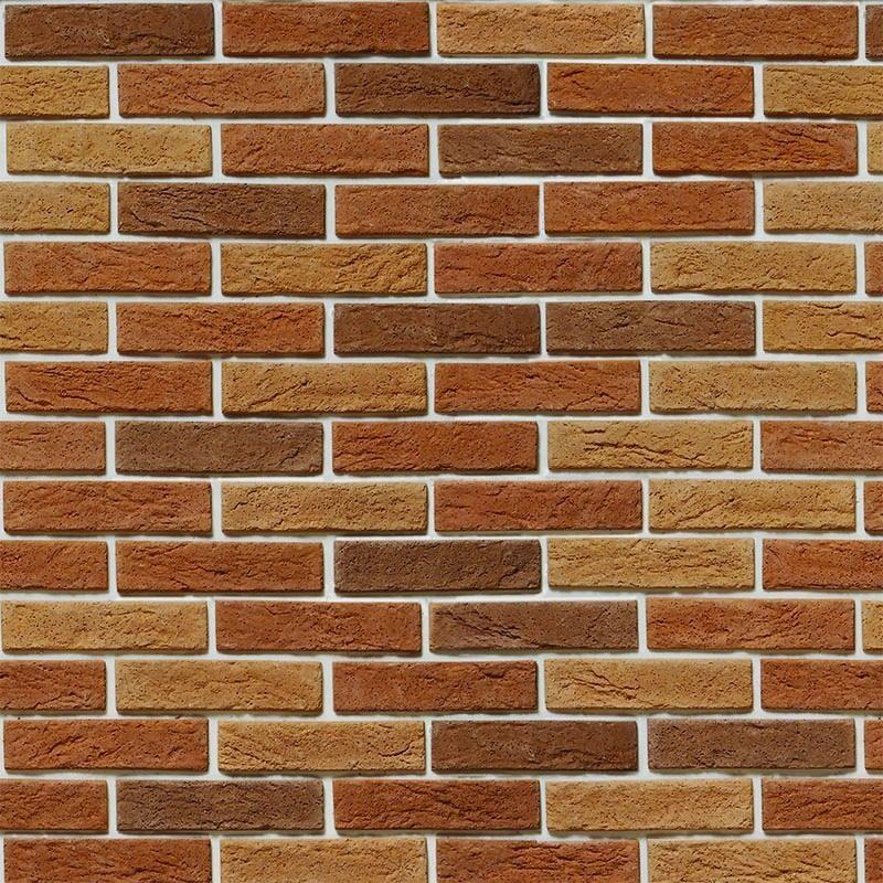 Papel de parede tijolo tijolinho a vista marrom r stico for Papel de pared rustico