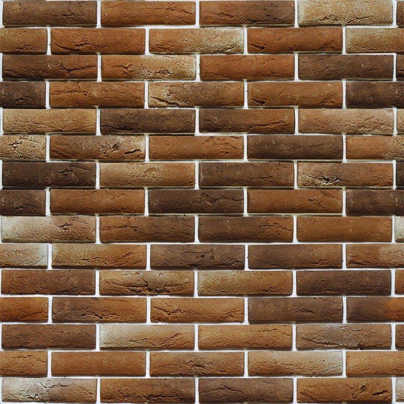 Papel de parede tijolo tijolinho a vista rustico adesivo for Papel de pared rustico
