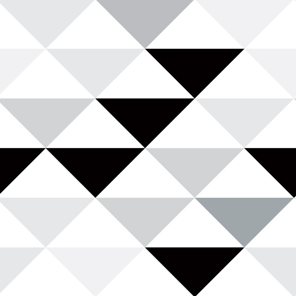 799c1c3b8 papel de parede triangulo cinza preto branco adesivo 10m. Carregando zoom.