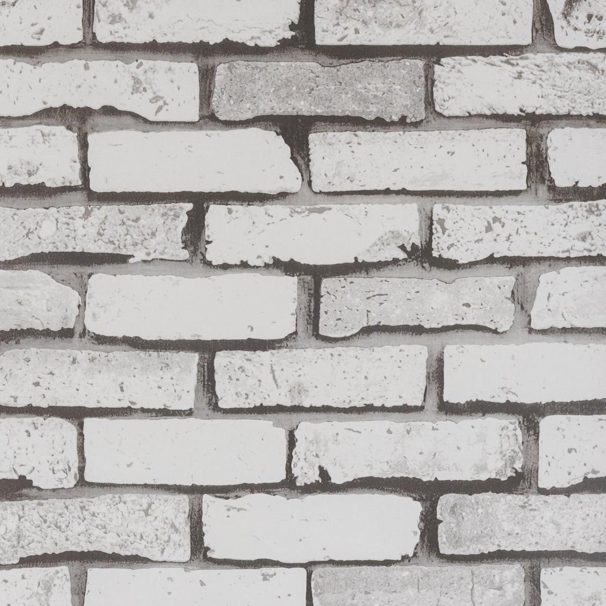 b5a8765f3 papel de parede vinílico lavável lavável tijolinho branco. Carregando zoom.