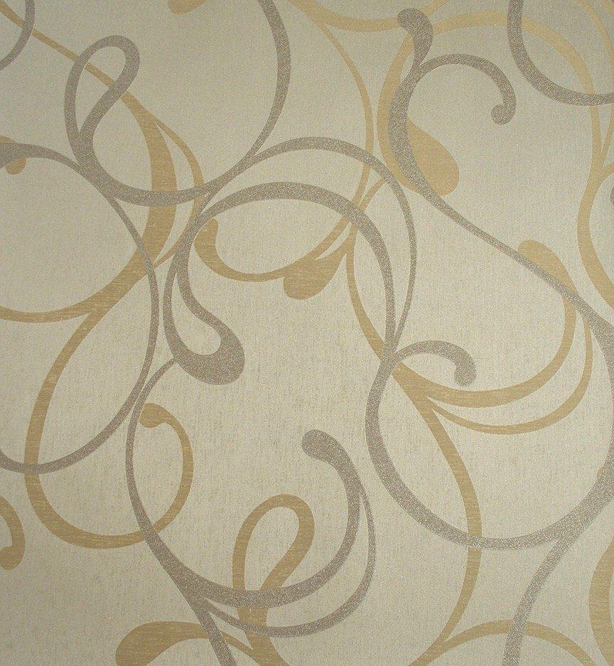 Papel de parede vin lico textura alto relevo curvas - Paredes de papel ...