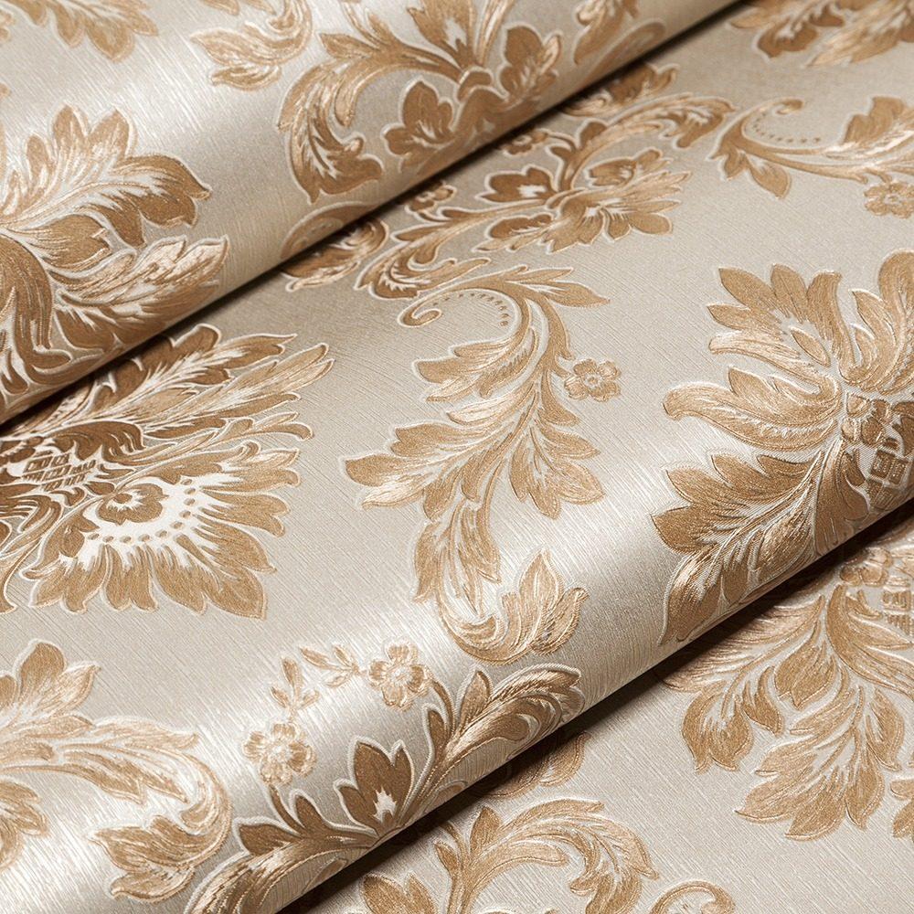 Papel de parede vin lico textura em alto relevo p sala r 90 00 em mercado livre - Papel vinilico para paredes ...