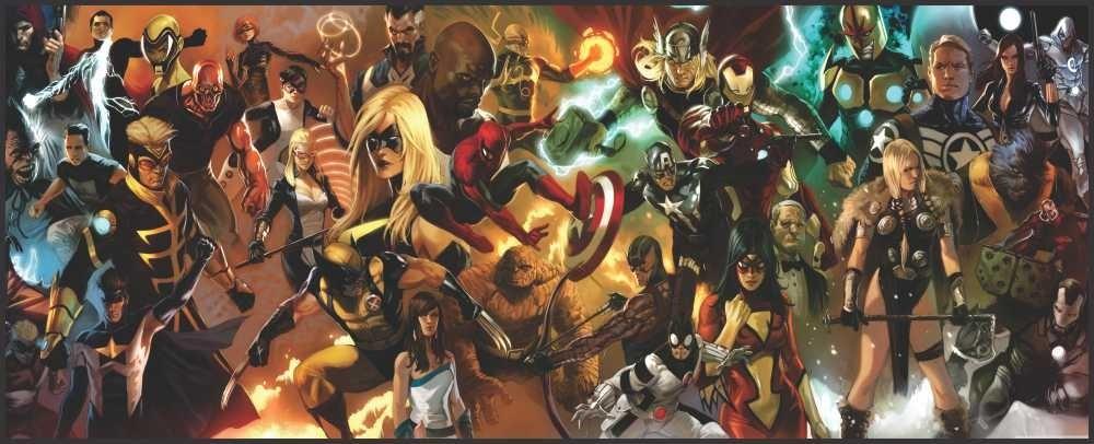 Best 49 The Avengers Wallpaper On Hipwallpaper: Papel De Parede Vinílico Todos Super Heróis Marvel 1,0x0