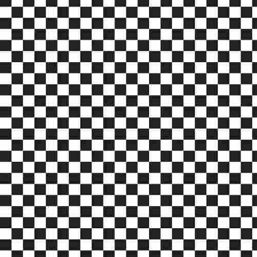Papel De Parede Xadrez Em Preto E Branco Xa10 R$ 52,25 em Mercado Livre -> Decoração Xadrez Preto E Branco