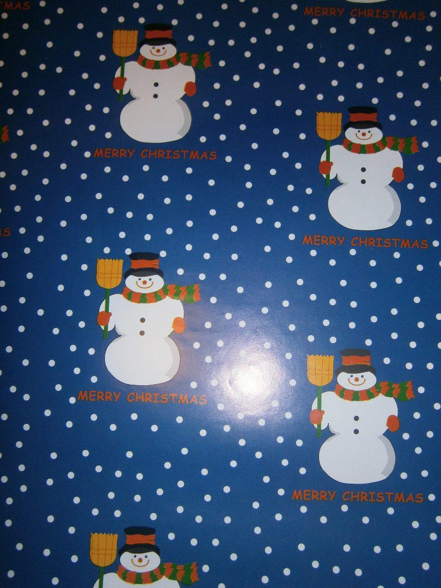 Papel de regalo navidad bs en mercado libre - Papel de regalo navidad ...