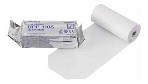 papel ecografico videoprinter upp110s sony caja 10 rollos