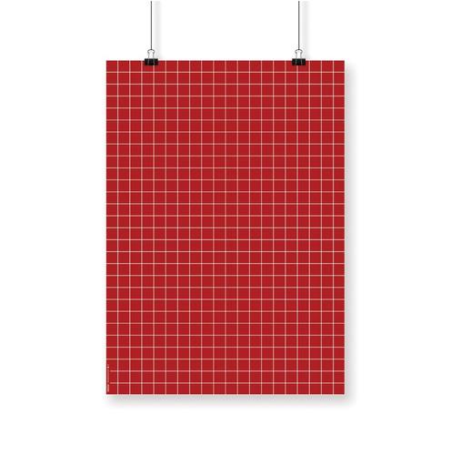 papel estampado scrap encuadernación grilla rojo navidad