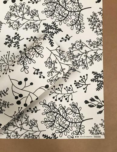 papel estampado scrapbooking encuadernación floreado crema