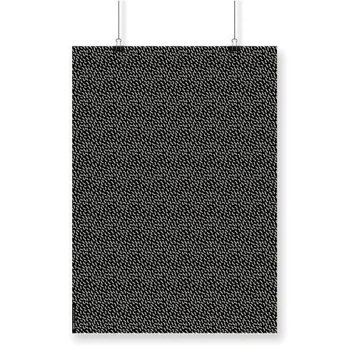 papel estampado scrapbooking encuadernación gusanos negro