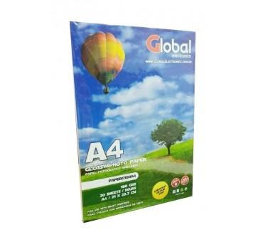papel film a4 transparente acetato sticker 120 gr 500 h