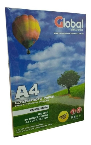 papel film a4 transparente acetato sticker 120 gr x 20 hojas