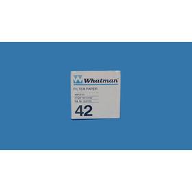 Papel Filtro Whatman Grado 42 Ø 5.5 Cm No. Cat.1442 055