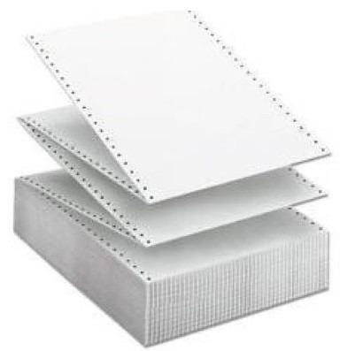 papel forma continua 9 1/2 x 11 una parte