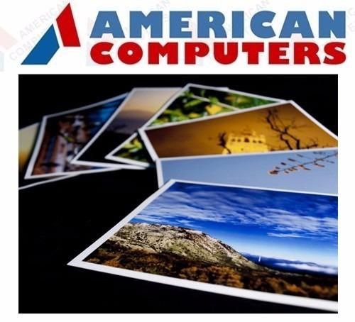 papel foto brillante autoadhesivo 135 gr sticker a4 x 500