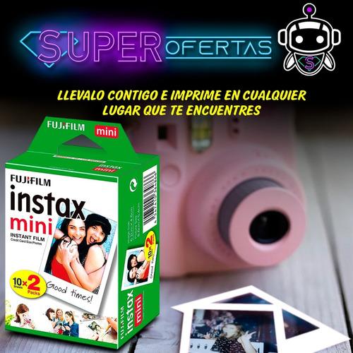 papel foto fujifilm instant film instax mini 8  9 original