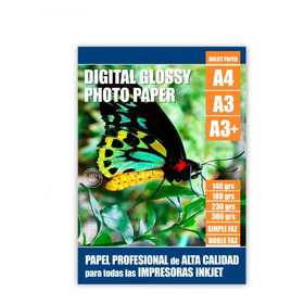 Papel Foto Premium A4 Single Side-180grs Glossy-20 Hjs Sparc