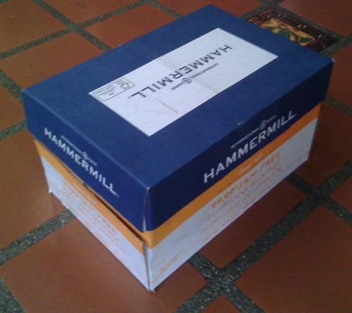 papel fotocopia carta hp hammermill chamex repropaper