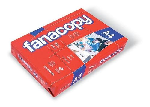 papel fotocopia fanacopy a4 común 75g