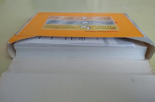 papel fotografia kodak 4x6  240gr